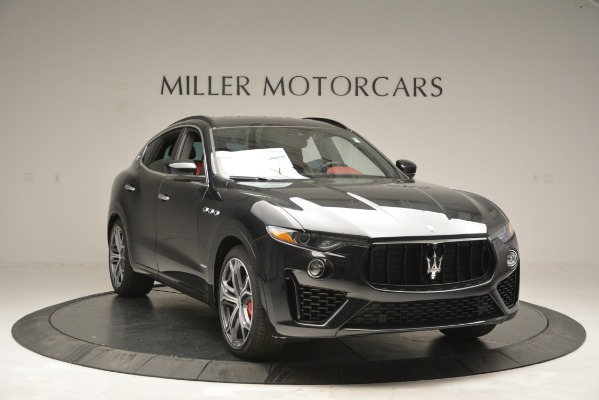 New 2019 Maserati Levante S Q4 GranSport for sale $104,050 at Rolls-Royce Motor Cars Greenwich in Greenwich CT 06830 11
