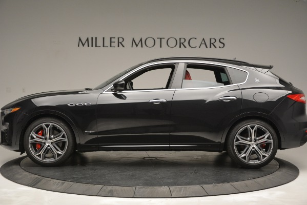 New 2019 Maserati Levante S Q4 GranSport for sale $104,050 at Rolls-Royce Motor Cars Greenwich in Greenwich CT 06830 3