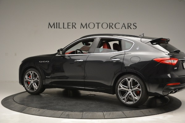 New 2019 Maserati Levante S Q4 GranSport for sale $104,050 at Rolls-Royce Motor Cars Greenwich in Greenwich CT 06830 4