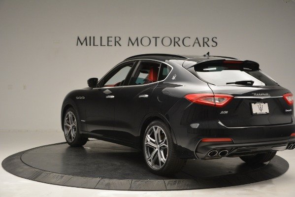 New 2019 Maserati Levante S Q4 GranSport for sale $104,050 at Rolls-Royce Motor Cars Greenwich in Greenwich CT 06830 5