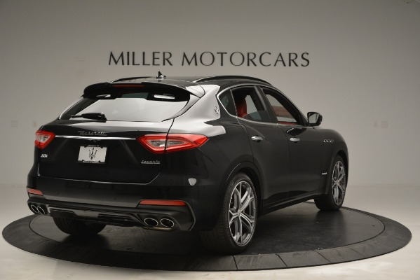 New 2019 Maserati Levante S Q4 GranSport for sale $104,050 at Rolls-Royce Motor Cars Greenwich in Greenwich CT 06830 7