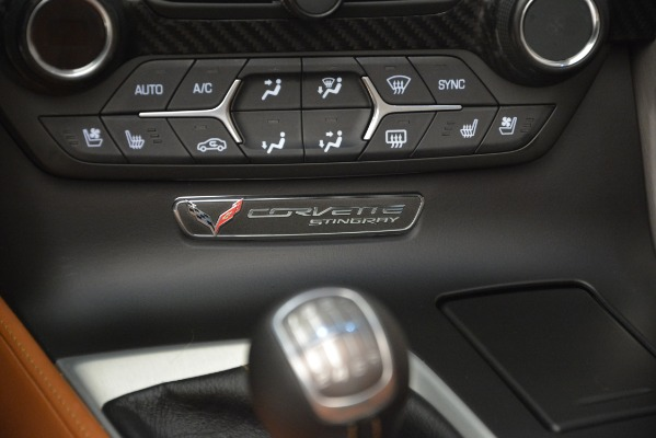 Used 2014 Chevrolet Corvette Stingray Z51 for sale Sold at Rolls-Royce Motor Cars Greenwich in Greenwich CT 06830 23