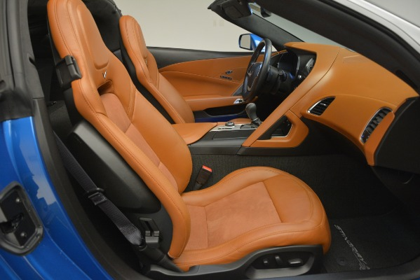 Used 2014 Chevrolet Corvette Stingray Z51 for sale Sold at Rolls-Royce Motor Cars Greenwich in Greenwich CT 06830 26