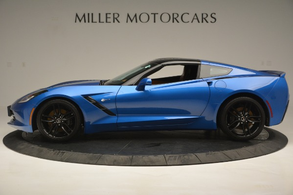 Used 2014 Chevrolet Corvette Stingray Z51 for sale Sold at Rolls-Royce Motor Cars Greenwich in Greenwich CT 06830 3