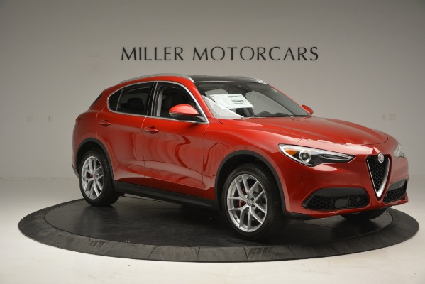 New 2018 Alfa Romeo Stelvio Ti Lusso Q4 for sale Sold at Rolls-Royce Motor Cars Greenwich in Greenwich CT 06830 10