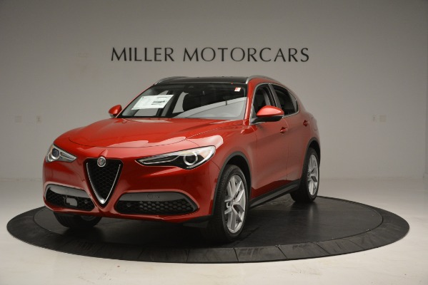 New 2018 Alfa Romeo Stelvio Ti Lusso Q4 for sale Sold at Rolls-Royce Motor Cars Greenwich in Greenwich CT 06830 2