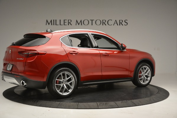 New 2018 Alfa Romeo Stelvio Ti Lusso Q4 for sale Sold at Rolls-Royce Motor Cars Greenwich in Greenwich CT 06830 8