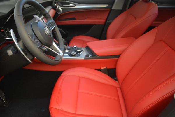 New 2019 Alfa Romeo Stelvio Sport Q4 for sale Sold at Rolls-Royce Motor Cars Greenwich in Greenwich CT 06830 14