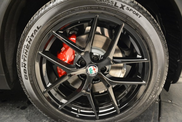 New 2019 Alfa Romeo Stelvio Sport Q4 for sale Sold at Rolls-Royce Motor Cars Greenwich in Greenwich CT 06830 25