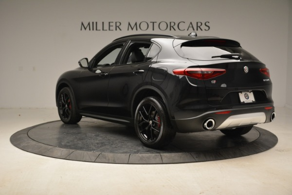 New 2019 Alfa Romeo Stelvio Sport Q4 for sale Sold at Rolls-Royce Motor Cars Greenwich in Greenwich CT 06830 5