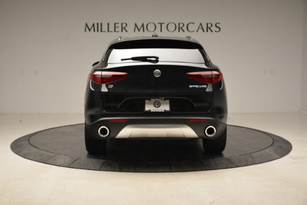 New 2019 Alfa Romeo Stelvio Sport Q4 for sale Sold at Rolls-Royce Motor Cars Greenwich in Greenwich CT 06830 6