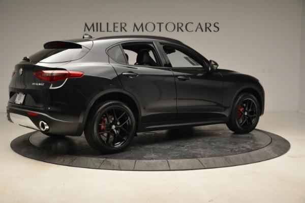 New 2019 Alfa Romeo Stelvio Sport Q4 for sale Sold at Rolls-Royce Motor Cars Greenwich in Greenwich CT 06830 8