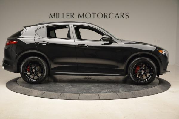 New 2019 Alfa Romeo Stelvio Sport Q4 for sale Sold at Rolls-Royce Motor Cars Greenwich in Greenwich CT 06830 9