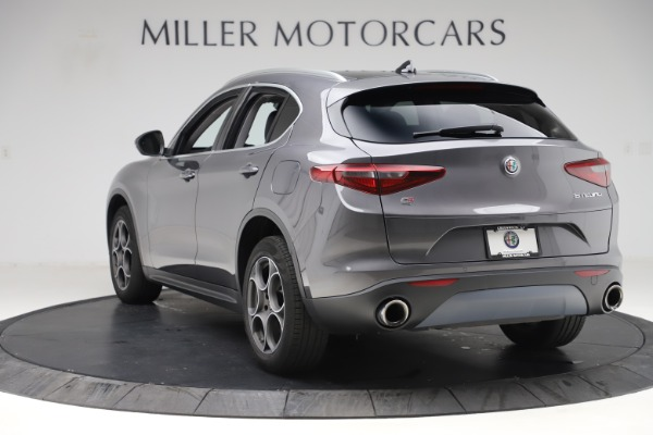 Used 2019 Alfa Romeo Stelvio Q4 for sale Sold at Rolls-Royce Motor Cars Greenwich in Greenwich CT 06830 5