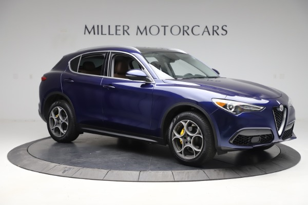 Used 2019 Alfa Romeo Stelvio Q4 for sale Sold at Rolls-Royce Motor Cars Greenwich in Greenwich CT 06830 10