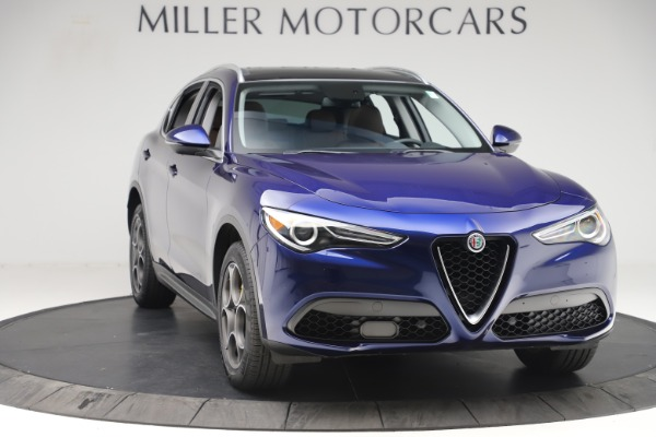 Used 2019 Alfa Romeo Stelvio Q4 for sale Sold at Rolls-Royce Motor Cars Greenwich in Greenwich CT 06830 11
