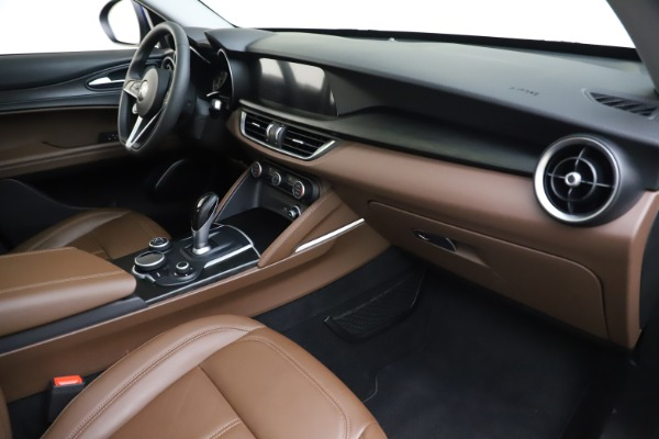 Used 2019 Alfa Romeo Stelvio Q4 for sale Sold at Rolls-Royce Motor Cars Greenwich in Greenwich CT 06830 22