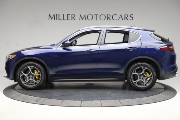 Used 2019 Alfa Romeo Stelvio Q4 for sale Sold at Rolls-Royce Motor Cars Greenwich in Greenwich CT 06830 3