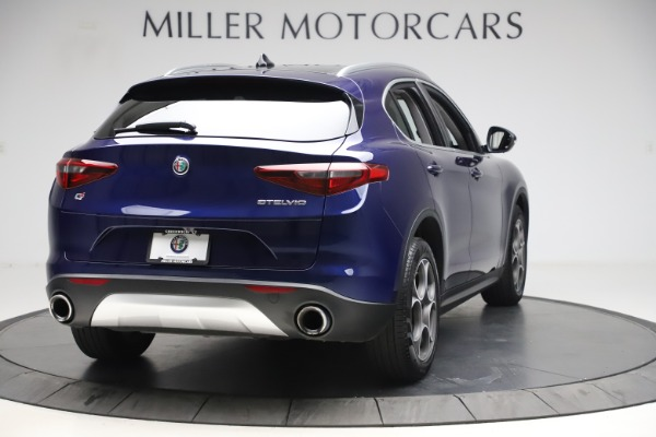 Used 2019 Alfa Romeo Stelvio Q4 for sale Sold at Rolls-Royce Motor Cars Greenwich in Greenwich CT 06830 7