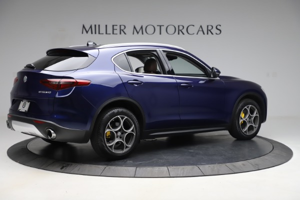 Used 2019 Alfa Romeo Stelvio Q4 for sale Sold at Rolls-Royce Motor Cars Greenwich in Greenwich CT 06830 8