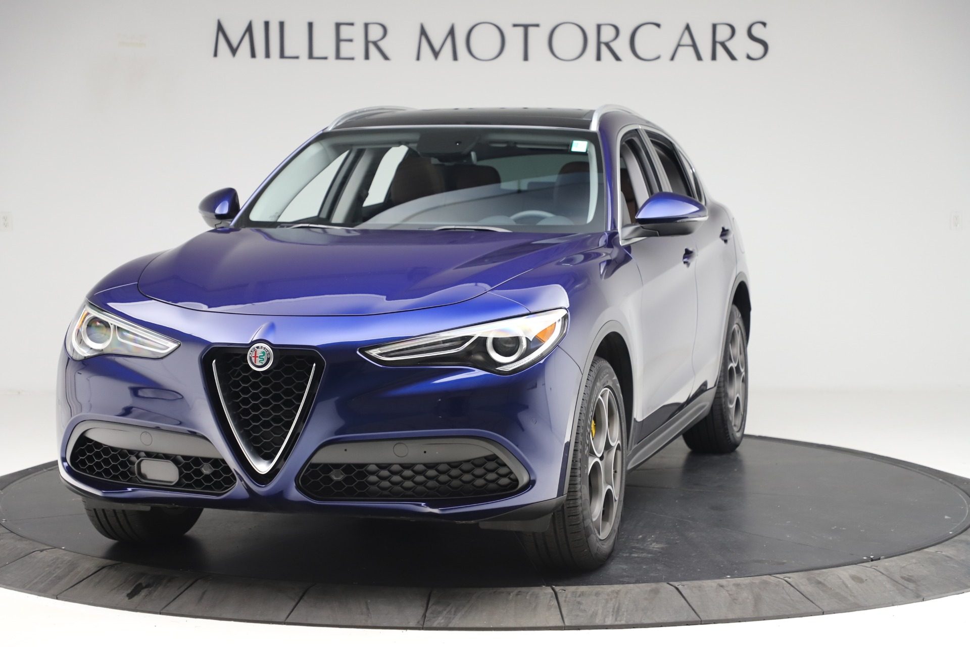Used 2019 Alfa Romeo Stelvio Q4 for sale Sold at Rolls-Royce Motor Cars Greenwich in Greenwich CT 06830 1