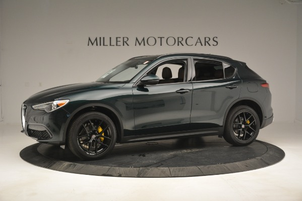New 2019 Alfa Romeo Stelvio Sport Q4 for sale Sold at Rolls-Royce Motor Cars Greenwich in Greenwich CT 06830 2