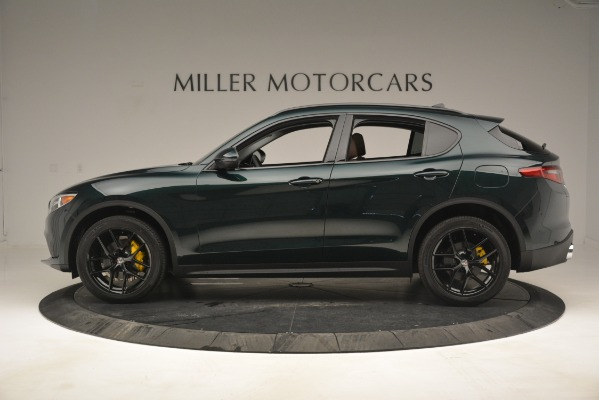 New 2019 Alfa Romeo Stelvio Sport Q4 for sale Sold at Rolls-Royce Motor Cars Greenwich in Greenwich CT 06830 3