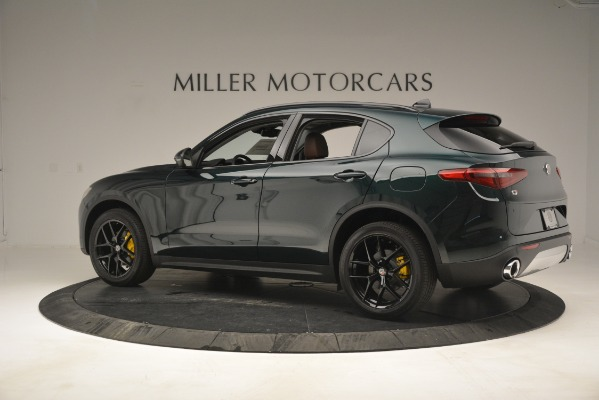 New 2019 Alfa Romeo Stelvio Sport Q4 for sale Sold at Rolls-Royce Motor Cars Greenwich in Greenwich CT 06830 4
