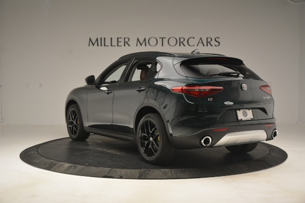 New 2019 Alfa Romeo Stelvio Sport Q4 for sale Sold at Rolls-Royce Motor Cars Greenwich in Greenwich CT 06830 5
