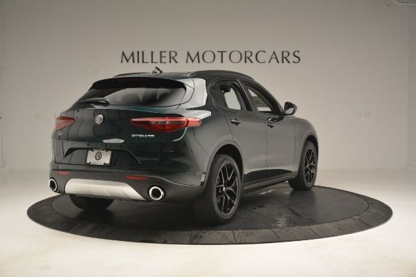 New 2019 Alfa Romeo Stelvio Sport Q4 for sale Sold at Rolls-Royce Motor Cars Greenwich in Greenwich CT 06830 7