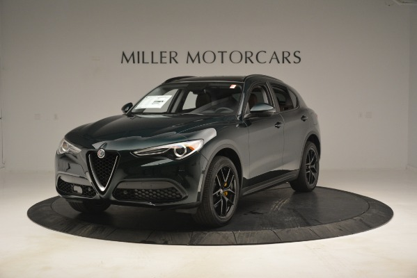New 2019 Alfa Romeo Stelvio Sport Q4 for sale Sold at Rolls-Royce Motor Cars Greenwich in Greenwich CT 06830 1