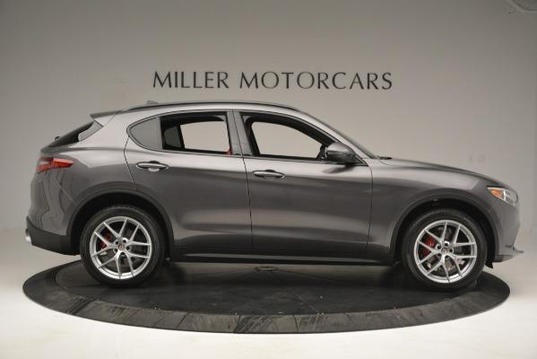 New 2019 Alfa Romeo Stelvio Ti Sport Q4 for sale Sold at Rolls-Royce Motor Cars Greenwich in Greenwich CT 06830 9