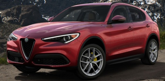 New 2018 Alfa Romeo Stelvio Ti Lusso Q4 for sale Sold at Rolls-Royce Motor Cars Greenwich in Greenwich CT 06830 1