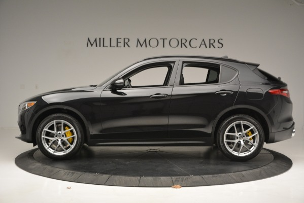 New 2019 Alfa Romeo Stelvio Ti Sport Q4 for sale Sold at Rolls-Royce Motor Cars Greenwich in Greenwich CT 06830 3