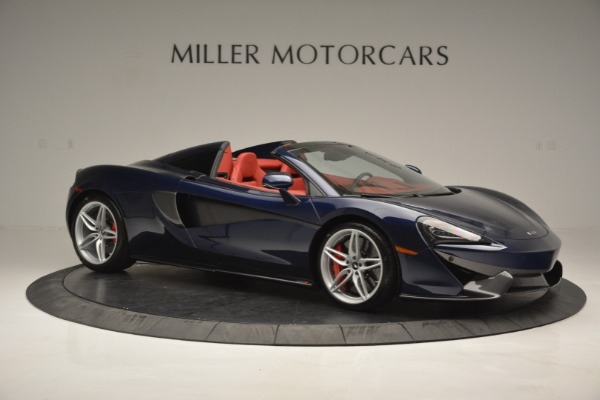 New 2019 McLaren 570S Spider Convertible for sale Sold at Rolls-Royce Motor Cars Greenwich in Greenwich CT 06830 10