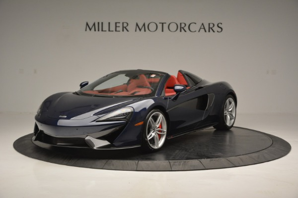 New 2019 McLaren 570S Spider Convertible for sale Sold at Rolls-Royce Motor Cars Greenwich in Greenwich CT 06830 2