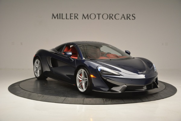 New 2019 McLaren 570S Spider Convertible for sale Sold at Rolls-Royce Motor Cars Greenwich in Greenwich CT 06830 21