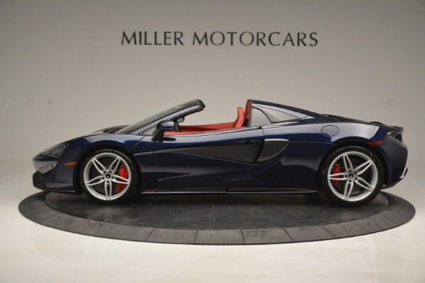 New 2019 McLaren 570S Spider Convertible for sale Sold at Rolls-Royce Motor Cars Greenwich in Greenwich CT 06830 3