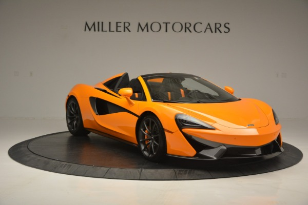Used 2019 McLaren 570S SPIDER Convertible for sale $240,720 at Rolls-Royce Motor Cars Greenwich in Greenwich CT 06830 11