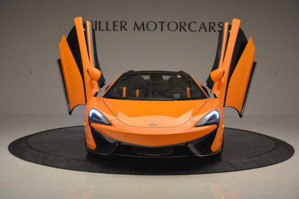 Used 2019 McLaren 570S SPIDER Convertible for sale $240,720 at Rolls-Royce Motor Cars Greenwich in Greenwich CT 06830 13