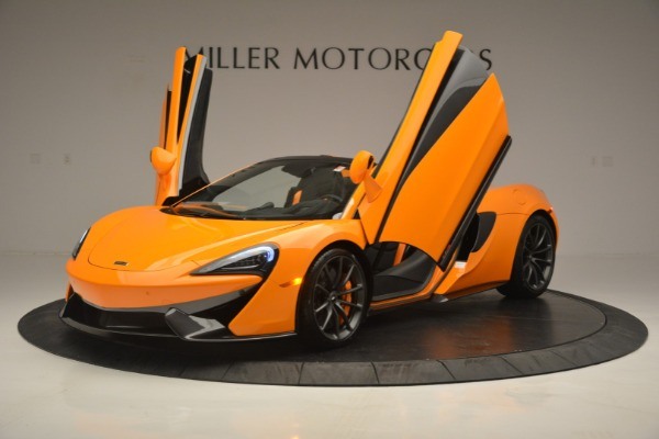 Used 2019 McLaren 570S Spider for sale Sold at Rolls-Royce Motor Cars Greenwich in Greenwich CT 06830 14