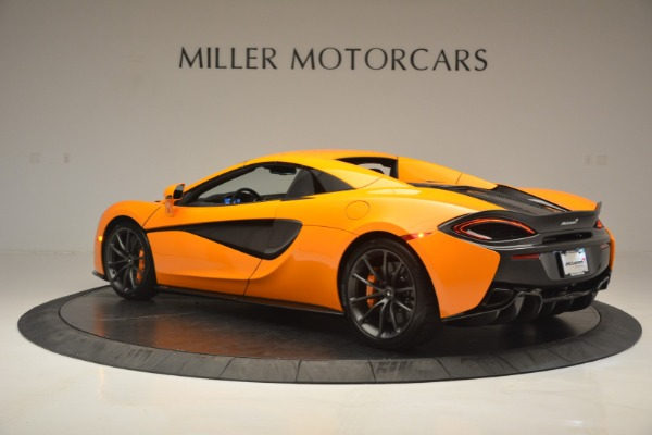 Used 2019 McLaren 570S Spider for sale Sold at Rolls-Royce Motor Cars Greenwich in Greenwich CT 06830 17