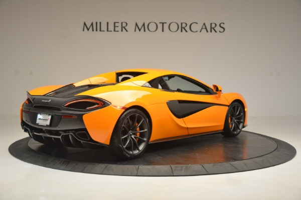 Used 2019 McLaren 570S SPIDER Convertible for sale $240,720 at Rolls-Royce Motor Cars Greenwich in Greenwich CT 06830 19