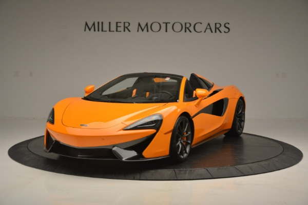Used 2019 McLaren 570S SPIDER Convertible for sale $215,000 at Rolls-Royce Motor Cars Greenwich in Greenwich CT 06830 2