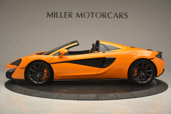 Used 2019 McLaren 570S Spider for sale $186,900 at Rolls-Royce Motor Cars Greenwich in Greenwich CT 06830 3