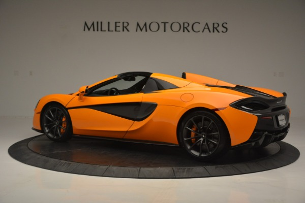 Used 2019 McLaren 570S Spider for sale Sold at Rolls-Royce Motor Cars Greenwich in Greenwich CT 06830 4