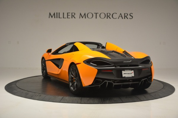 Used 2019 McLaren 570S SPIDER Convertible for sale $240,720 at Rolls-Royce Motor Cars Greenwich in Greenwich CT 06830 5
