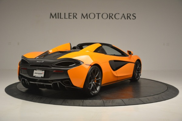 Used 2019 McLaren 570S SPIDER Convertible for sale $215,000 at Rolls-Royce Motor Cars Greenwich in Greenwich CT 06830 7