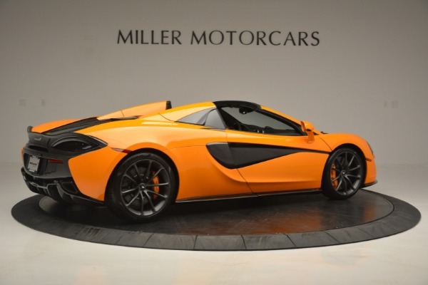 Used 2019 McLaren 570S Spider for sale Sold at Rolls-Royce Motor Cars Greenwich in Greenwich CT 06830 8