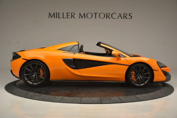 Used 2019 McLaren 570S Spider for sale $186,900 at Rolls-Royce Motor Cars Greenwich in Greenwich CT 06830 9